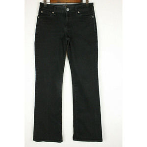 Kut from the Kloth Black Bootcut Mid Rise Jeans